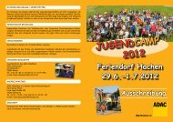 Jugend CAMP 2012 - MSC Schmallenberg eV im ADAC