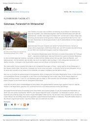 Golsmaas_ Feriendorf im Winterschlaf