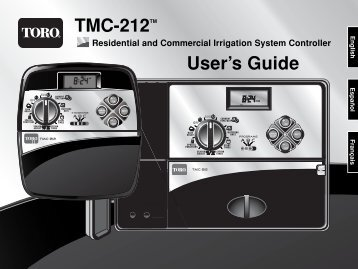 TMC-212TM User's Guide - Reinders.com