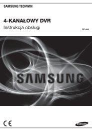 4-kanałowy dvr - Samsung CCTV
