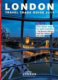 TRAVEL TRADE GUIDE 2011 - London & Partners