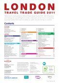 TRAVEL TRADE GUIDE 2011 - London & Partners - Page 3