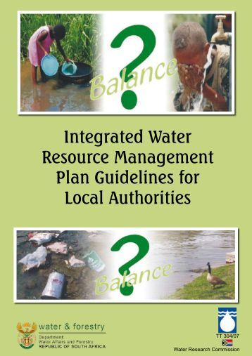 Integrated Water Resource Management Plan Guidelines for Local ...