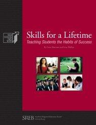 Skills for a Lifetime - Southern Regional Education Board
