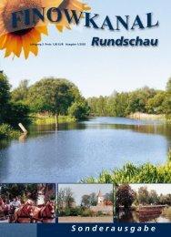 Das Eberswalder Ei - in der Region Finowkanal
