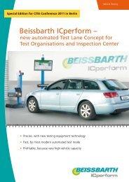 Beissbarth ICperform – - Autobas 77 SA