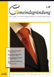 Komplette Zeitschrift als PDF - Konferenz für Gemeindegründung eV