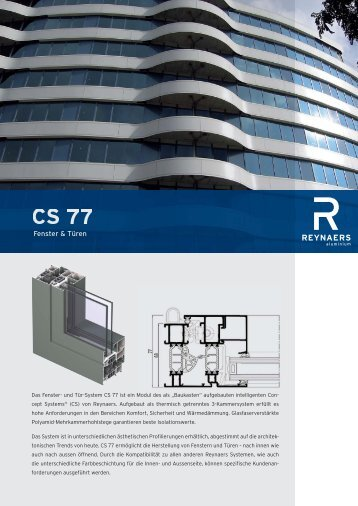 CS 77 - Schmitz-Fenster GmbH