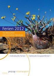 Ferien 2012 - Procap
