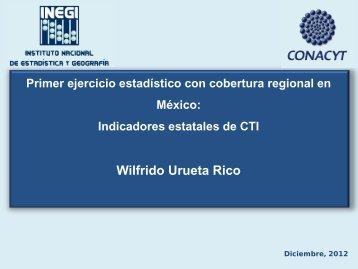 Primer ejercicio estadístico con cobertura regional en México ... - Ricyt
