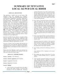 LOCAL 162 DRIVERS RIDER - International Brotherhood of ...