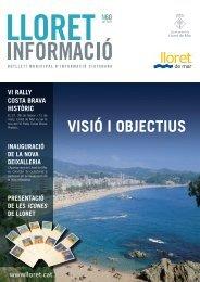 Núm. 60 - Ajuntament de Lloret de Mar
