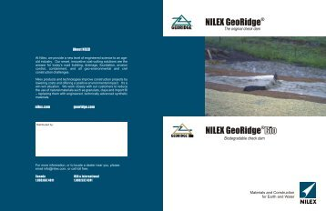 Bio GeoRidge Brochure