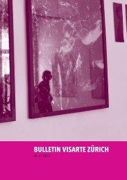 Bulletin 2012/03 - visarte zürich