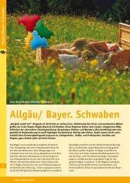 Allgäu/ Bayer. Schwaben - Camping in Bayern