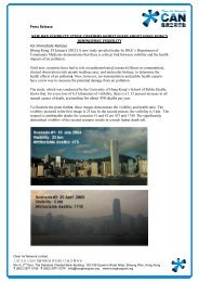Press Release NEW HKU VISIBILITY STUDY CONFI For Immediate ...
