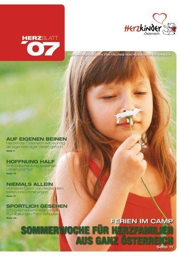 auf eigenen beinen - Herzkinder Österreich