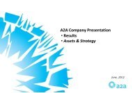 A2A Company Presentation_June 2012