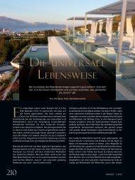 DIE UNIVERSALE LEBENSWEISE - Atelier Voyage