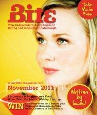 November 2011 - Bite Magazine
