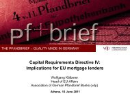 Capital Requirements Directive IV: Implications for EU mortgage ...