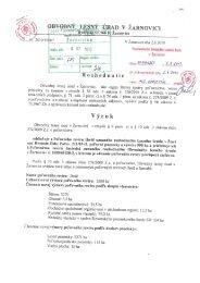 Rozhodnutie PR Ihráč - Lesy SR š.p.