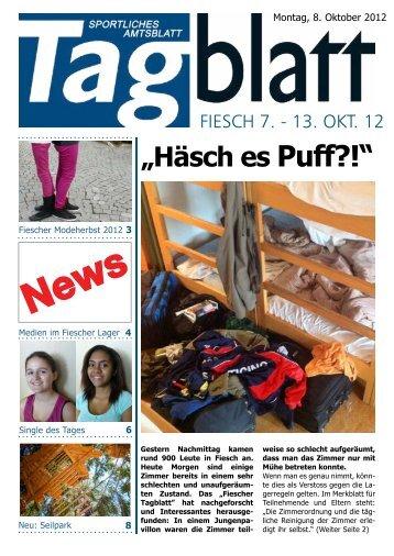 Ausgabe vom Montag, 8. Oktober 2012 - Zürcher Sport ...