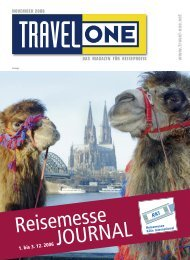 Reisemesse JOURNAL - Travel-One