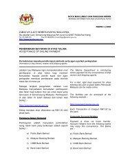 Penerimaan Bayaran Di Atas Talian - Jabatan Laut Malaysia
