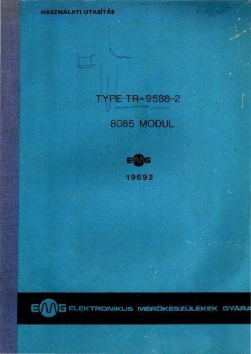 EMG 19692 8085 MODUL