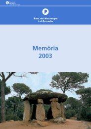 memòria M. i C. 2003 b-n