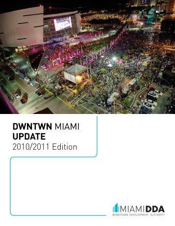 DWNTWN MIAMI UPDATE - Miami Downtown Development Authority
