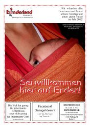 Sei willkommen hier auf Erden! - Kinderland Steiermark
