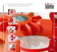 BUERKLE Katalog 2013 - Bürkle GmbH
