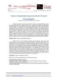 Trauma y Temporalidad - Psicoterapia Relacional
