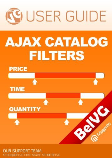 Magento Ajax Filter User Guide? - BelVG Magento Extensions Store