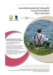 Gemeinsamer Wettbewerbsbeitrag der Kurorte Bad Bertrich, Daun und