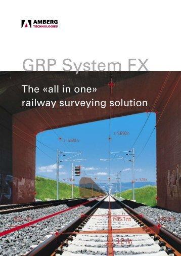 GRP System FX - Opti-cal Survey Equipment