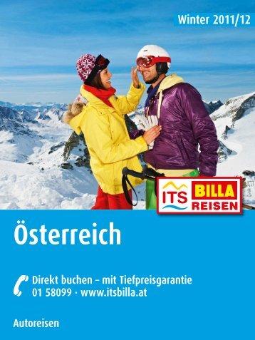 ITS BILLA - Autoreisen: Österreich - Winter 2011/2012 - Letenky.sk