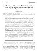 art01 - laranjeiras.indd - Sociedade Brasileira de Ornitologia - Page 7