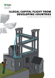 illegal capital flight from developing countries - Kepa.fi