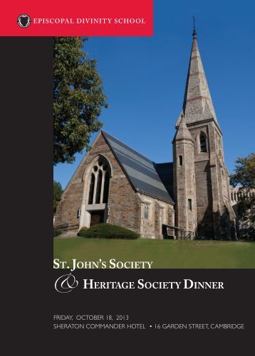 to download the invitation (PDF) - Episcopal Divinity School