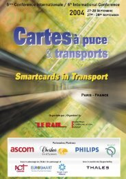 Smartcards in transport - Stanislaw-Jan Plewako