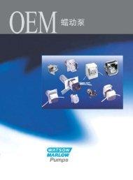 OEM系列泵(ZH)(PDF : 5138 KB) - Watson-Marlow
