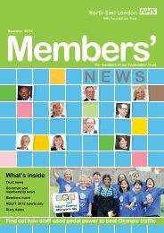 Members - North East London NHS Foundation Trust