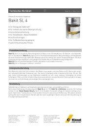 Bakit SL 4_de.pdf - Kiesel Bauchemie GmbH & Co.KG