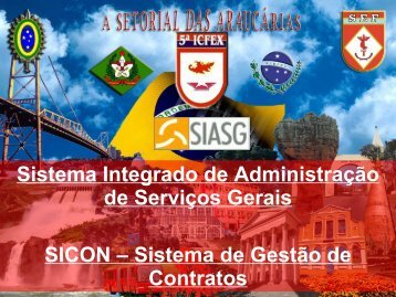 SICON – Fiscal do Contrato