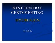 HYDROGEN - Clean Energy Resource Teams