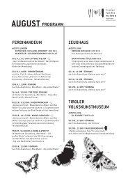 HoFkirCHe - Tiroler Landesmuseen