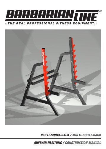 multi-squat-rack / multi-squat-rack aufbauanleitung ... - Barbarian Line